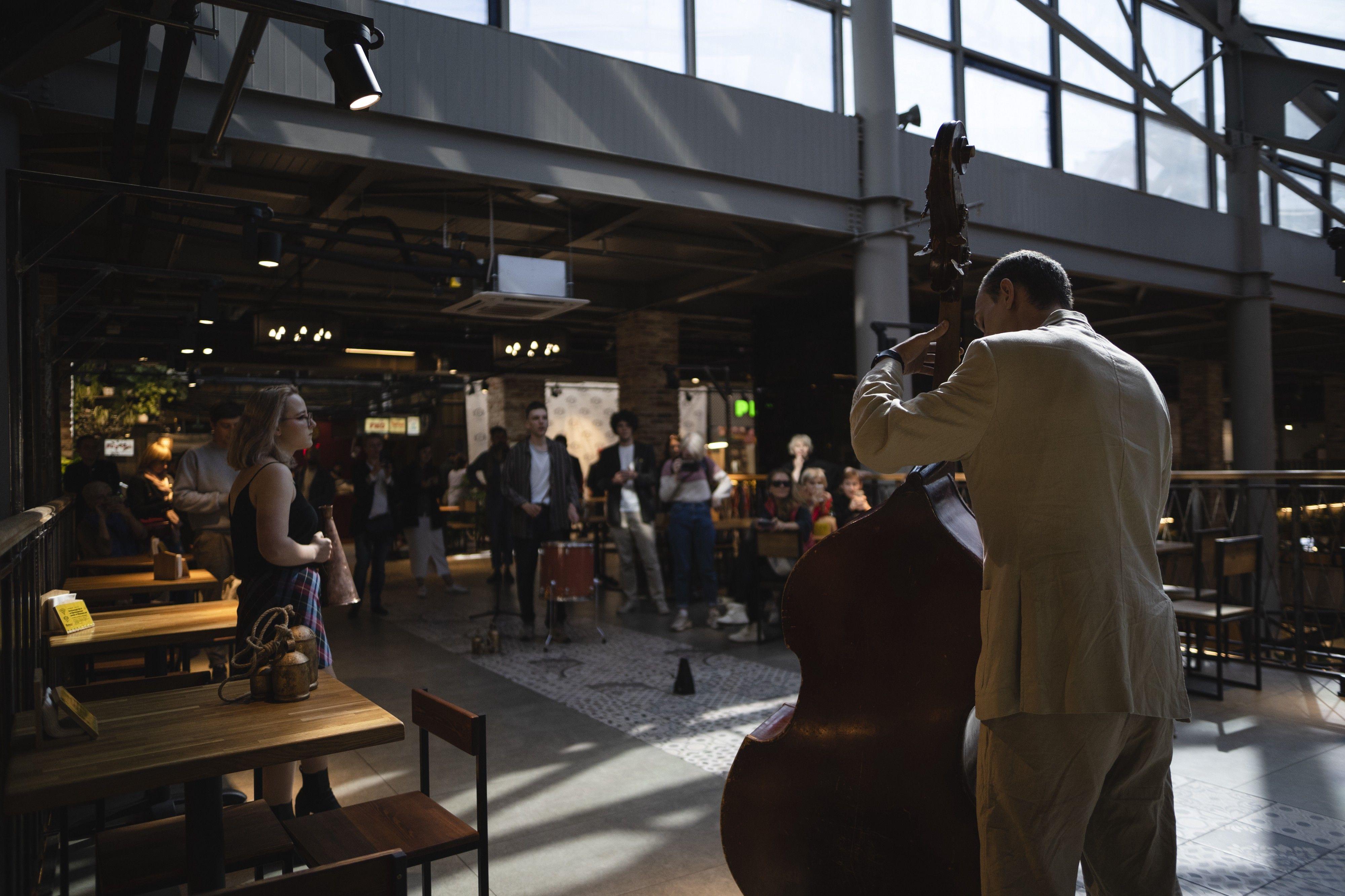 «Московские соло. Кунстхалле музыки» на Братиславском рынке. Фото предоставлено Фондом V–A–C