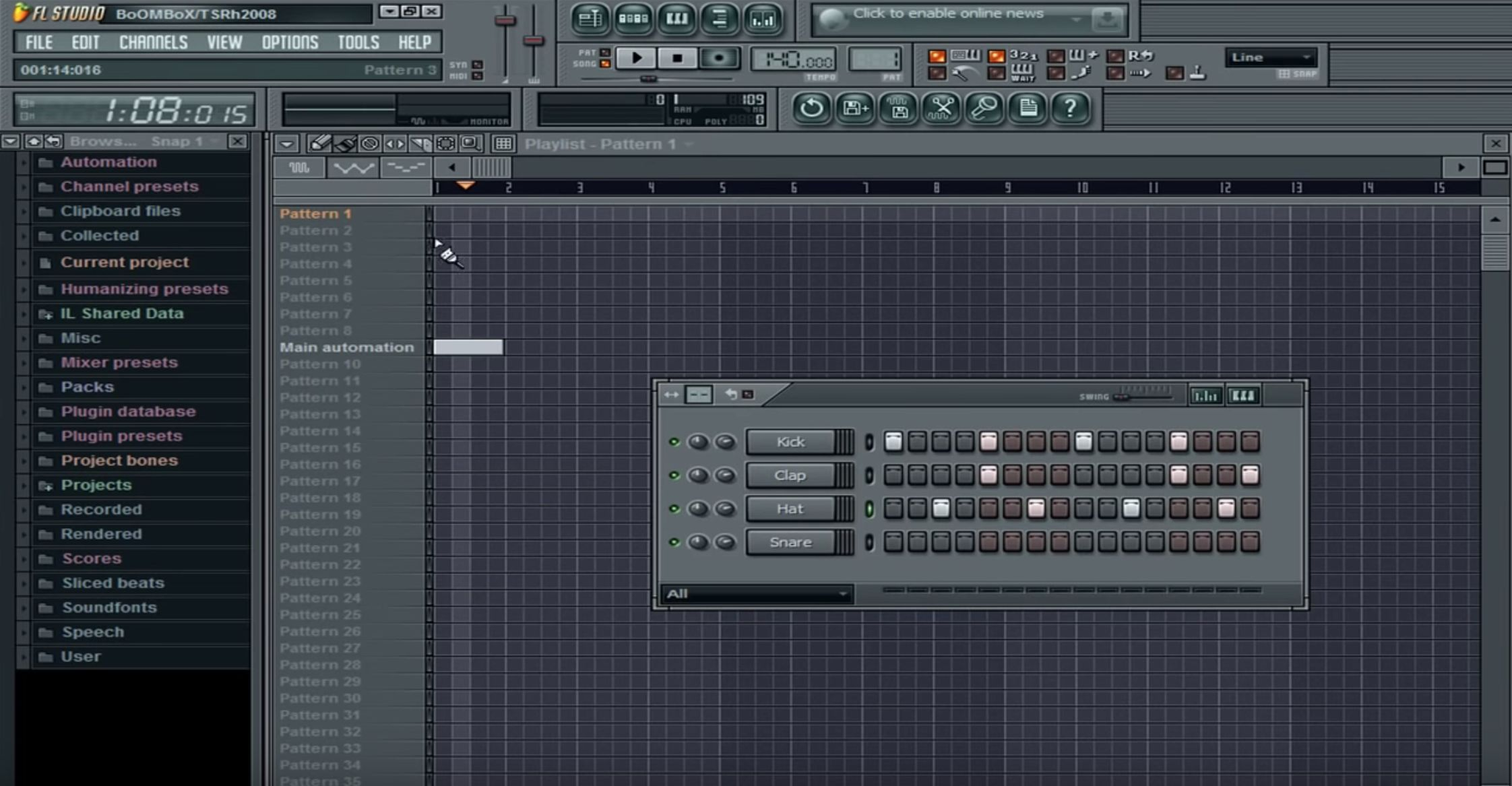 FL Studio 8. Фото: JakeNoluv/Youtube