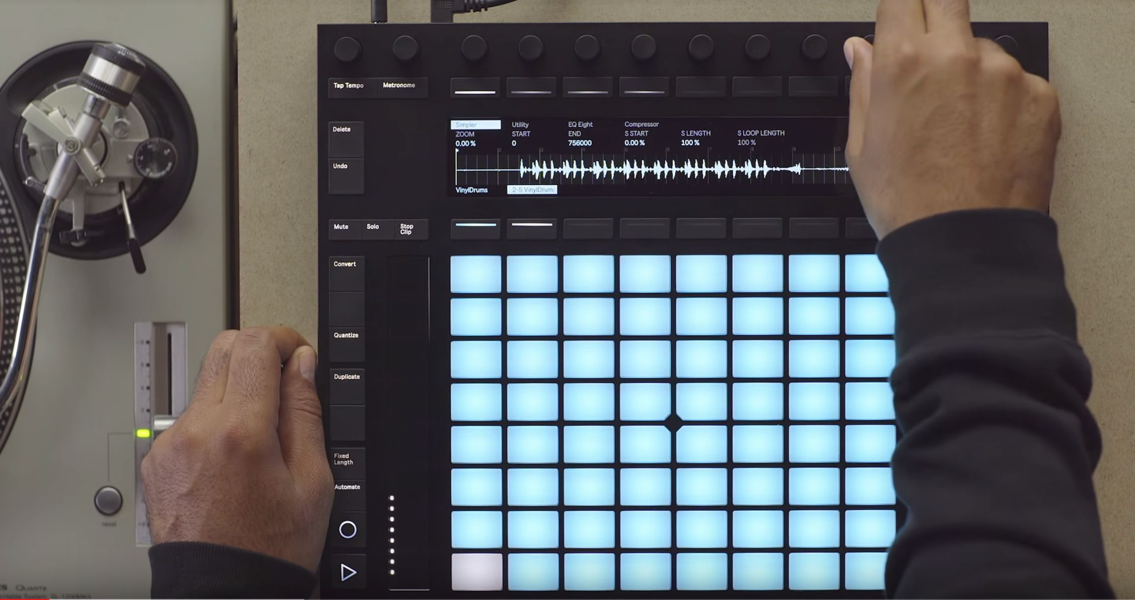 Ableton Push 2. Фото: Ableton/YouTube