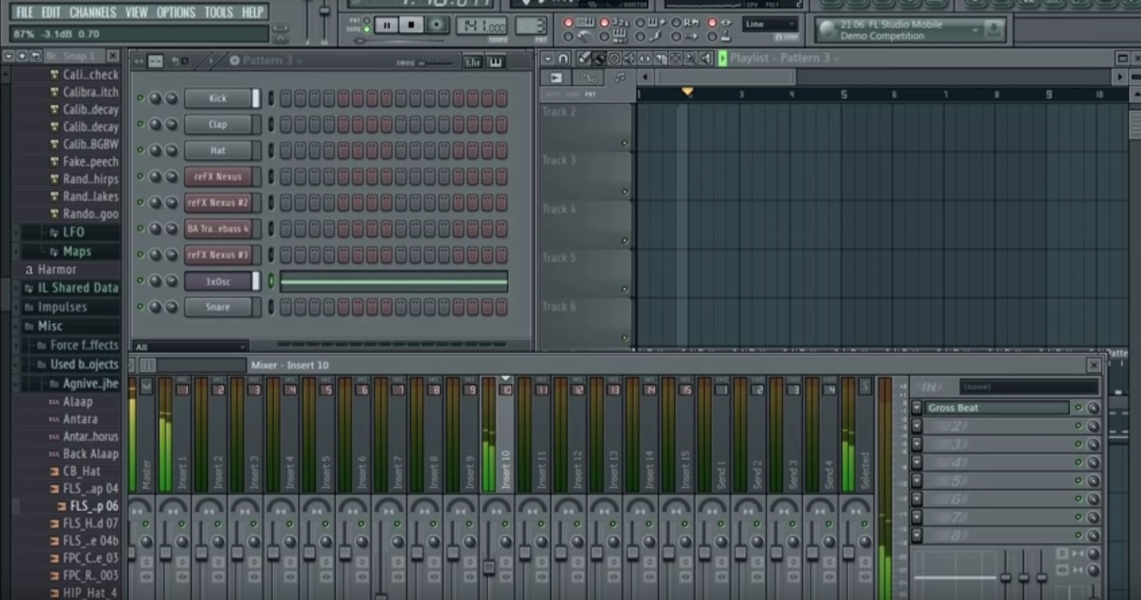 FL Studio 11. Фото: lionstargood/Youtube