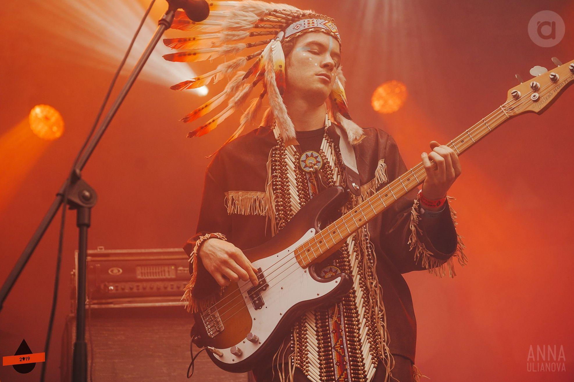 Басист «Хадн Дадн» Сергей Какуркин. Фото: Анна Ульянова