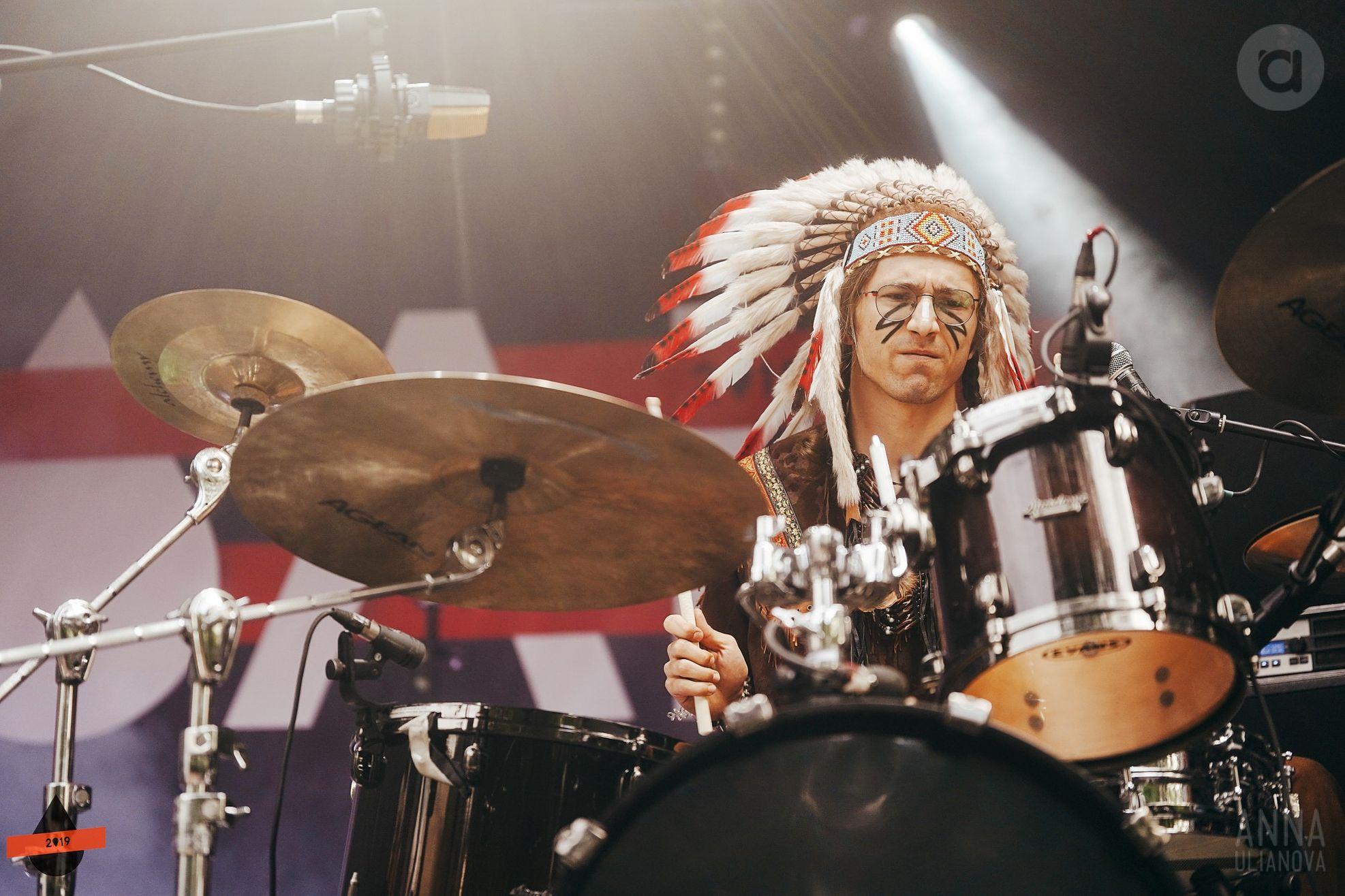 Барабанщик «Хадн Дадн» Никита Чернат. Фото: Анна Ульянова