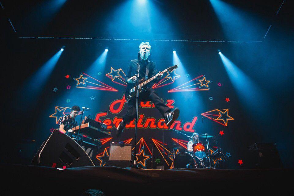 Franz Ferdinand на фестивале STEREOLETO 2018. Фото: STEREOLETO VK