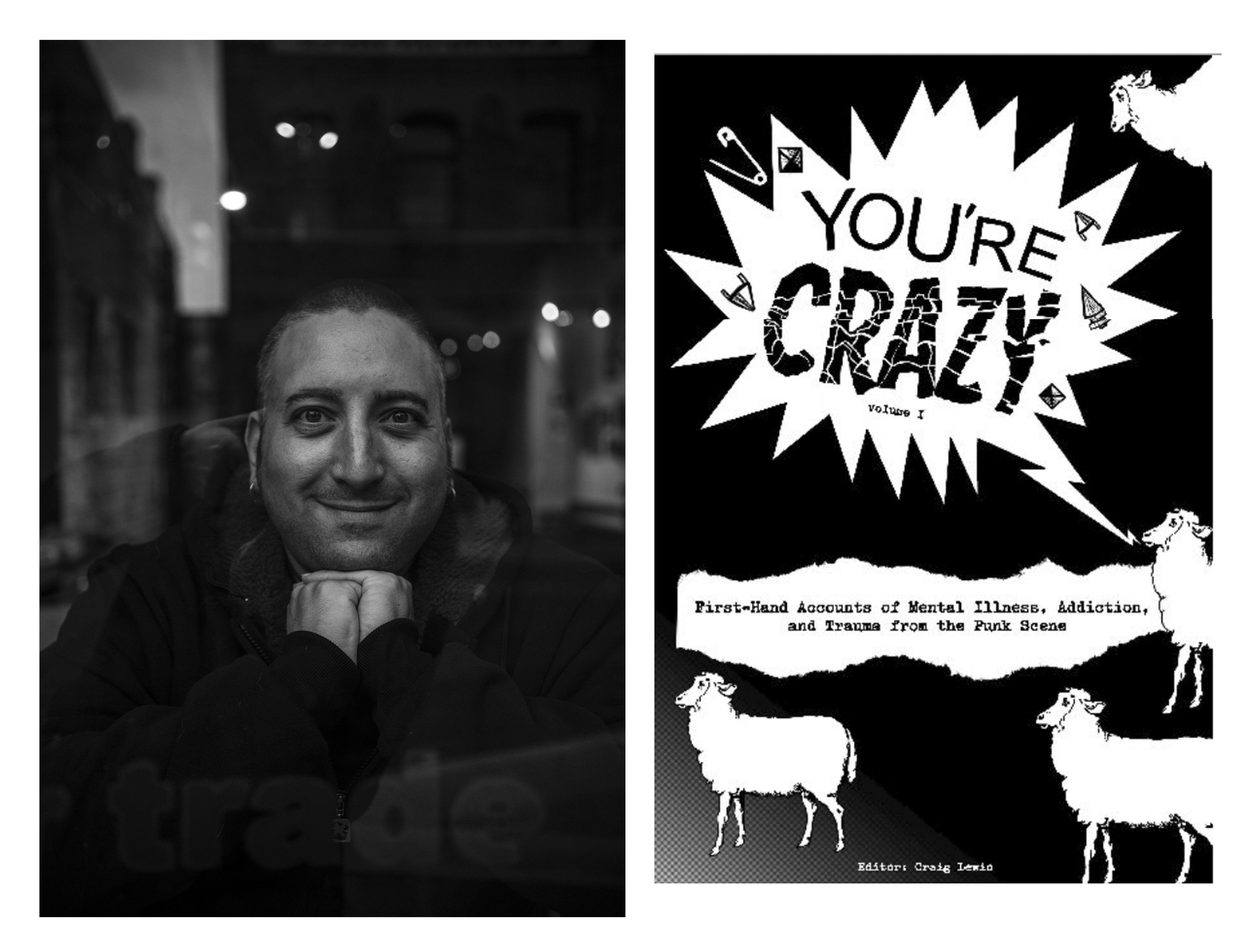 Крейг Льюис и его книга «You're Crazy». Фото: thegritofit.com